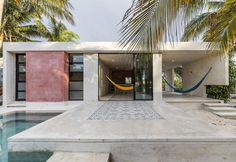 Palme, piscina e... lo stretto indispensabile per El Palmar, il progetto di David Cervera sul mare del Messico