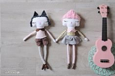 Couture ♡ mes poupées homemade - Zess.fr // Lifestyle . mode . déco . maman . DIY