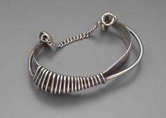 Bracelet | Ed Weiner. Sterling silver. c. 1945 - 55