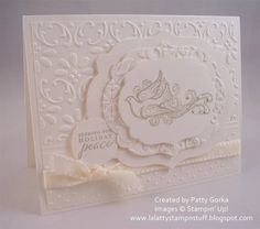 White Christmas by LaLatty - Cards and Paper Crafts at Splitcoaststampers