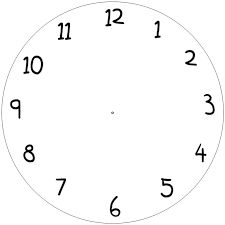 15 best how to images clocks clock face printable clock