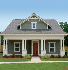 Exterior Projects On Pinterest White Trim Traditional Exterior And Green Doors