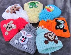 Applique crochet baby hat Baby Hat with Aplique Baby Beanie Newborn Crochet, Crochet Baby Hats, Baby Knitting, Knitted Hats, Booties Crochet, Scarf Crochet, Free Knitting, Knitting Patterns, Crochet Patterns