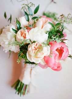 blush and pink peonies - bridal bouquet - bright blooms - summer flowers - greenery - california wedding Pink And Gold Wedding, Gold Wedding Theme, Floral Wedding, Wedding Themes, Wedding Decorations, Wedding Ideas, Wedding Inspiration, Bride Bouquets, Flower Bouquet Wedding
