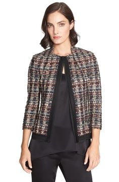 St. John Collection Opulent Tweed Jacket available at #Nordstrom