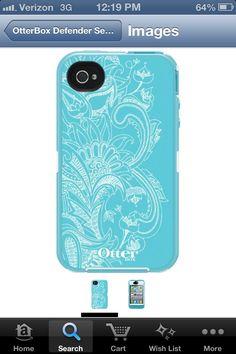 Otterbox iPhone 4 case!