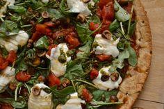 Burrata Hazelnut and Pesto Pizza by Kristin H., The Fresh Find #HEBMeals