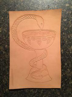 Bowl of Hygeia (work in progress)