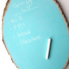 Rustic Chalkboards {Wall Decor} this would be cool in a tan color so it still looked like wood