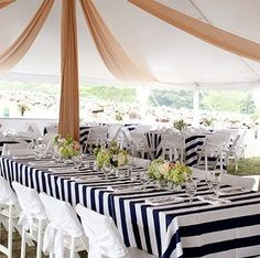 Superbe Buy Black/White STRIPE Tablecloth, Rectangle Tablecloth, Head Table, Guest  Tables,