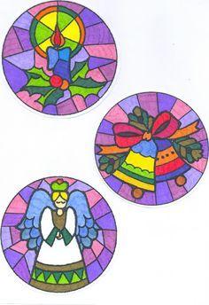 Los Mandalas: Mandalas de Navidad Más