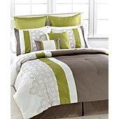Lavina 8 Piece California King Comforter Set