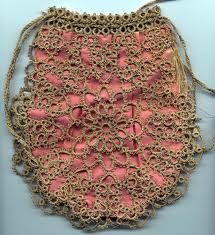 tatted purse. Unique and very beautiful ~ !!! ~
