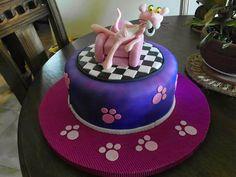 Torta de Pantera Rosa