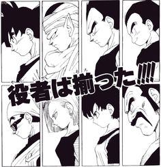 Dragon Ball - World tournament contestants - Majin Buu Saga