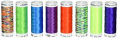 Mettler Polysheen Each 8 Colors Neon Colors Thread Set of 1 1500 yd1372m >>> See this great product.