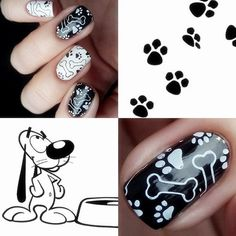 Cat Nail Art, Cat Nails, Cartoon Styles, Cute Cartoon, 3d Cartoon, Born Pretty Store, Image Plate, Pretty Animals, Pretty Nail Art