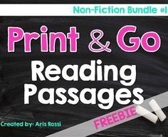 This no prep non-fiction reading passage is perfect for your literacy lessons! It can be used for reading comprehension, fluency practice, reading assessments, academic vocabulary practice, homework, close reads, and more! Each non-fiction reading passage includes an engaging topic and comprehension questions that assess student learning in multiple ways.