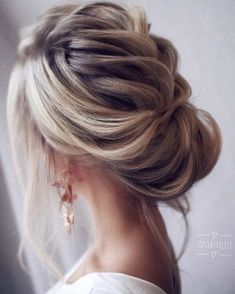 Loose & Romantic Wedding Hair from Tonystylist ~ such a pretty loose updo style. wedding hair inspiration - hair up - up do - Celebrate the Occasions Cedar City Utah Wedding Hairstyles For Long Hair, Wedding Hair And Makeup, Up Hairstyles, Hair Makeup, Hair Wedding, Bridal Hairstyles, Hairstyle Wedding, Hairstyle Ideas, Wedding Bride
