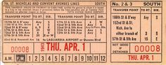 Transfer from Fifth Avenue Coach Company (Manhattan borough, New York City) (1943)