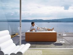 When not in use, the Sundeck Pool can be covered to create a comfortable sundeck. Enjoy!
