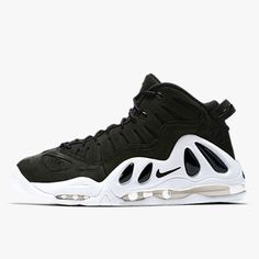 NIKE AIR MAX UPTEMPO 97 399207-004 BLACK PACK BLACK WHITE DS SIZE: 6