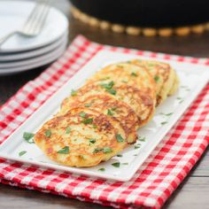 Potato Pancakes - every Monday after the big Sunday dinner ... What better use for left over mashed potatoes!!