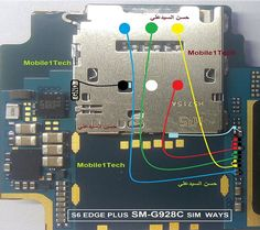 Samsung Galaxy Edge Plus Insert Sim IC Solution Jumper Problem Ways Is Not Working Repairing Diagram Easy Steps to Solve Full Tested Iphone Repair, Mobile Phone Repair, Iphone Secrets, Electronic Schematics, All Mobile Phones, Phone Hacks, Problem And Solution, Boombox, Samsung Galaxy S6