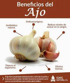 Benefios de el ajo