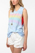 Title Unknown Rainbow Muscle Tank  #UrbanOutfitters