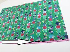 How to sew bias tape the easy way.