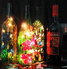 Wine Bottle Lights Class - TC Arts and Craftsters (Minneapolis, MN) - Meetup