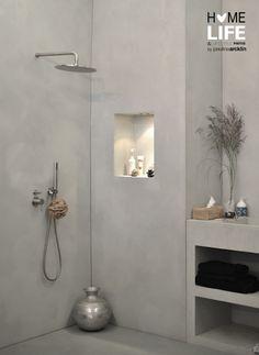 Woonbeurs Amsterdam 2011 © Paulina Arcklin - Lilly is Love Modern Shower, Modern Bathroom, Bathroom Grey, Bathroom Toilets, Laundry In Bathroom, Bad Inspiration, Bathroom Inspiration, Diy Bathroom Remodel, Bathroom Interior