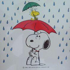 #Rain #Snoopy #Peanuts