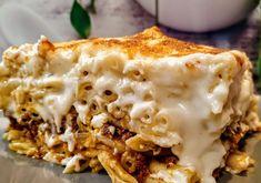 Εύκολο και οικονομικό εβδομαδιαίο πρόγραμμα διατροφής με πρωινό,μεσημεριανό,απογευματινό και βραδινό. Με σαλάτες,πίτες και κολατσιό για σχολείο. Lasagna, Feta, Kai, Macaroni And Cheese, Ethnic Recipes, Mac And Cheese, Lasagne