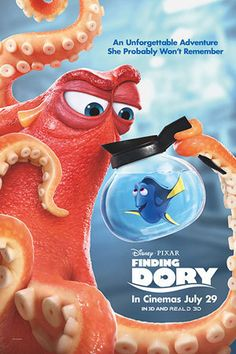 "Disney•Pixar's Finding Dory reunites everyone's favorite forgetful blue tang; Dory, with her friends Nemo and Marlin on a search for answers about her past. What can she remember? Who are her parents? And where did she learn to speak Whale?Directed by Andrew Stanton (""Finding Nemo,"" ""WALL•E"") the film features the voices of Ellen DeGeneres, Albert Brooks, Ed O'Neill, Kaitlin Olson, Ty Burrell, Eugene Levy and Diane Keaton."