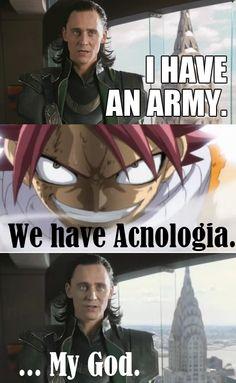 Muhahaha :) fairytail and avengers