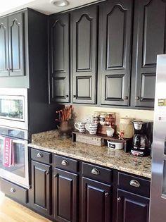 Countertop Ideas Kitchen Cabinet Painting Doors Black Html on