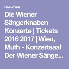 Die Wiener Sängerknaben Konzerte   Tickets 2016 2017   Wien, Muth - Konzertsaal Der Wiener Sängerknaben