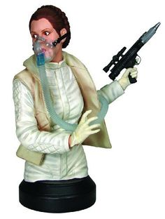 """Gentle Giant Star Wars: Princess Leia """"Mynock Hunt"""" Mini Bust by Diamond Comic Distributors. Save 17 Off!. $49.50. From Star Wars episode V: The Empire Strikes Back. Hand-numberd and limited. Cast in high-quality, highly detailed polystone. Stands 6-1/2"""" tall. A gentle giant sculpt. From the Manufacturer                A Gentle Giant Sculpt. From Star Wars Episode V: The Empire Strikes Back comes Princess Leia Organa. This 6 -1/2"""" mini-bust has been finely sculpted and accuratel..."""