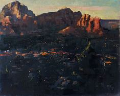 """It's easy to see why no one wants to leave behind the spectacular views of Sedona, Arizona. I painted """"Sedona Lights"""" (oil on linen, 16""""x20"""") for the Sedona Arts Center's 2017 Plein Air Festival. #SPAF2017 #sedonapleinairfestival #sedona #arizona #pleinair #enpleinair #patricksaunders #patricksaundersfineart #patricksaundersfinearts #patsaunders #pleinairstreaming #saundersfinearts #oilpainting #oilpainter #pleinairpainter #pleinairpainting #pleinairartist"""