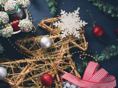 Christmas tree background by Life Morning Photography on @creativemarket