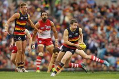 Australian Football League (AFL) round 3 Adelaide Crows vs Sydney Swans-at Adelaide oval to PM – Saturday April Sydney Swans travel to the city of churches for Australian Football League, Tv Channels, Swans, Crows, Fitspiration, Sydney, Split Second, Running, Ps3