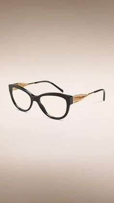 ca658fab2f Buy Burberry Gabardine Lace 3001 glasses in Black at SmartBuyGlasses. Huge  choice of other Burberry models to choose from that suit all.