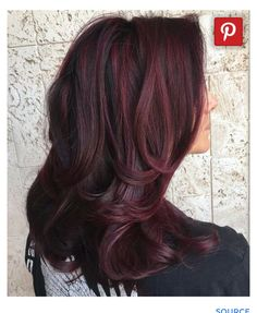 Captivating 45 Shades Of Burgundy Hair: Dark Burgundy, Maroon, Burgundy With Red,  Purple And Brown Highlights