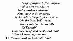 The Bells by Edgar Allan Poe (read by Tom O'Bedlam)