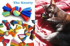 Moderncat Etsy Find: Tee Tugs Recycled T-shirt Cat Toys|moderncat :: cat products, cat toys, cat furniture, and more…all with modern style