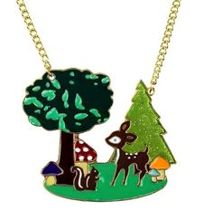 Our gorgeous Woodland Wonder necklace £4.50 :-)