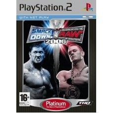 WWE: Smackdown Vs Raw 2006 for Sony Playstation 2/PS2 from THQ (SLES 53676)