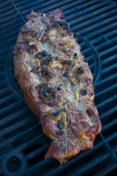 Apple Stuffed Pork Tenderloin - 080